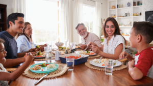 Family mealtime planning