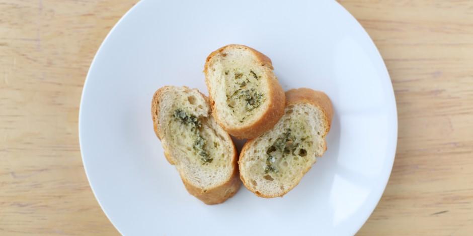 Slice of garlic bread (29g)